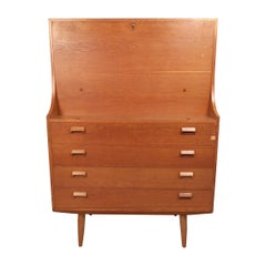 Danish Modern Secretary Desk by Børge Mogensen for Soborg