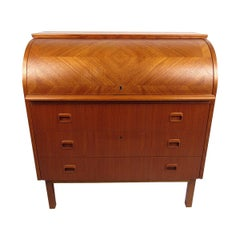 Danish Modern Secretary Desk by Egon Ostergaard
