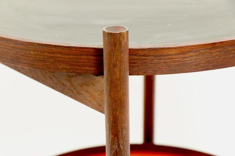 Danish Modern Serving Cart by Hans Bolling for Torben Orskov For Sale 1