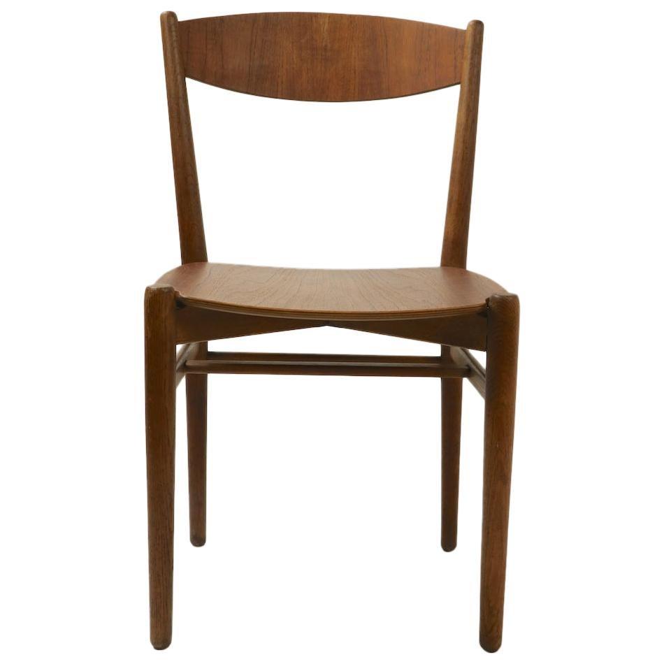 Danish Modern Side Chair Custom Made by Mills, Denmark