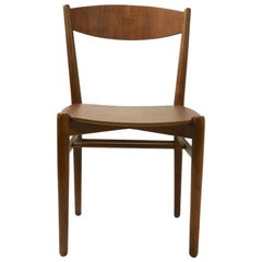 Danish Modern Side Chair Custom Made by Mills, Denmark