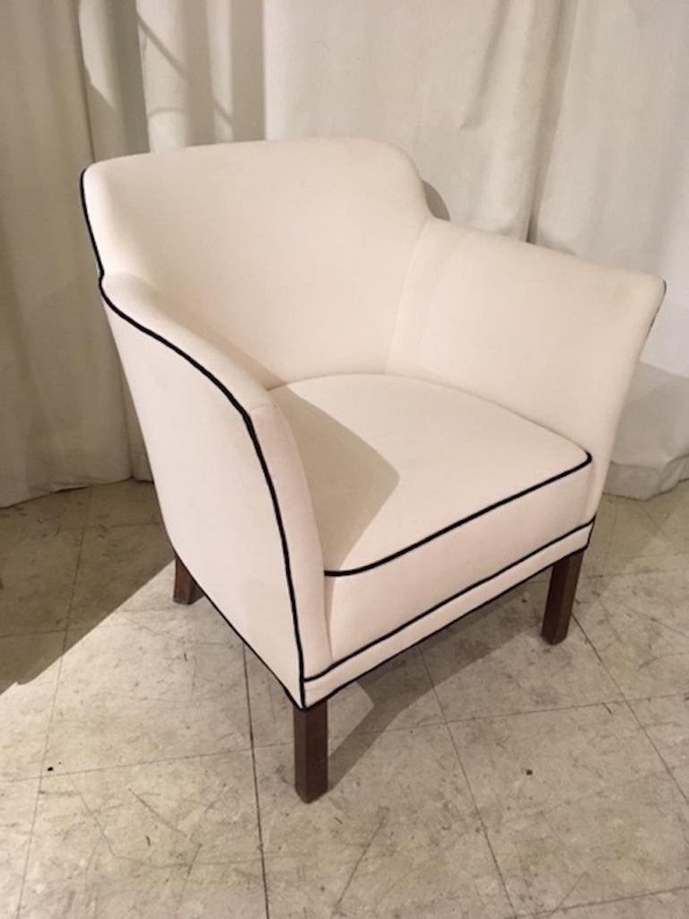 Danish Modern Single Armchair For Sale at 1stdibs
