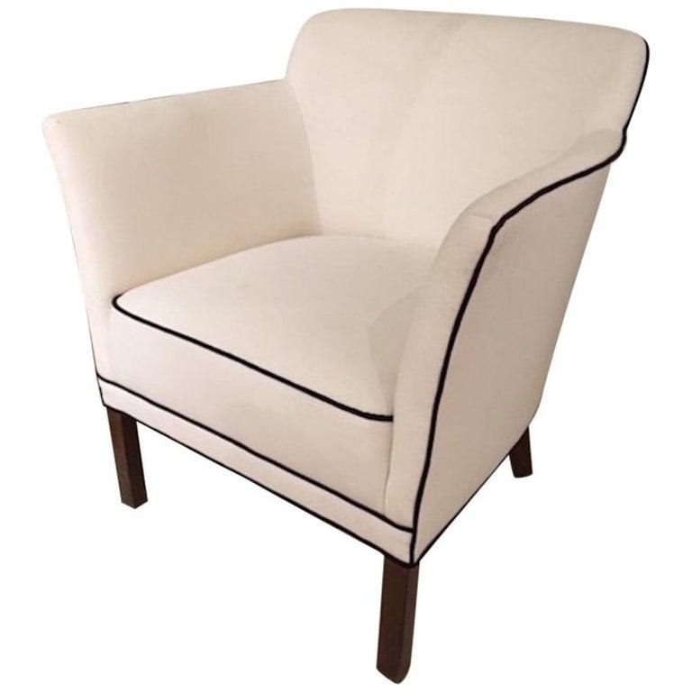 Danish Modern Single Armchair For Sale At 1stdibs