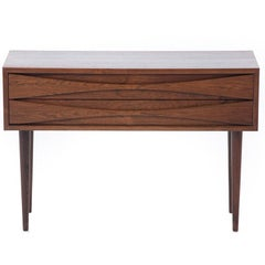 Danish Modern Arne Vodder Occasional Chest with Sculptural Handles