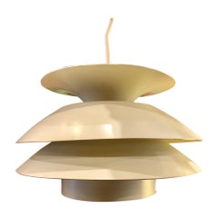 Danish Modern Small Pendant Lamp by Claus Bonderup & Torsten for Fog & Morup