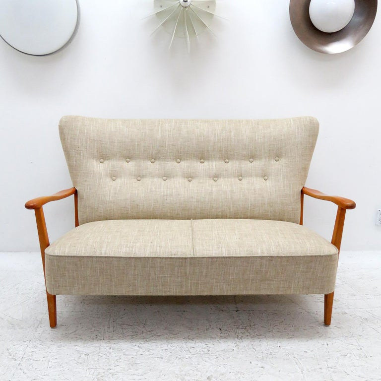 Scandinavian Modern Danish Modern Sofa by DUX, 1940 For Sale