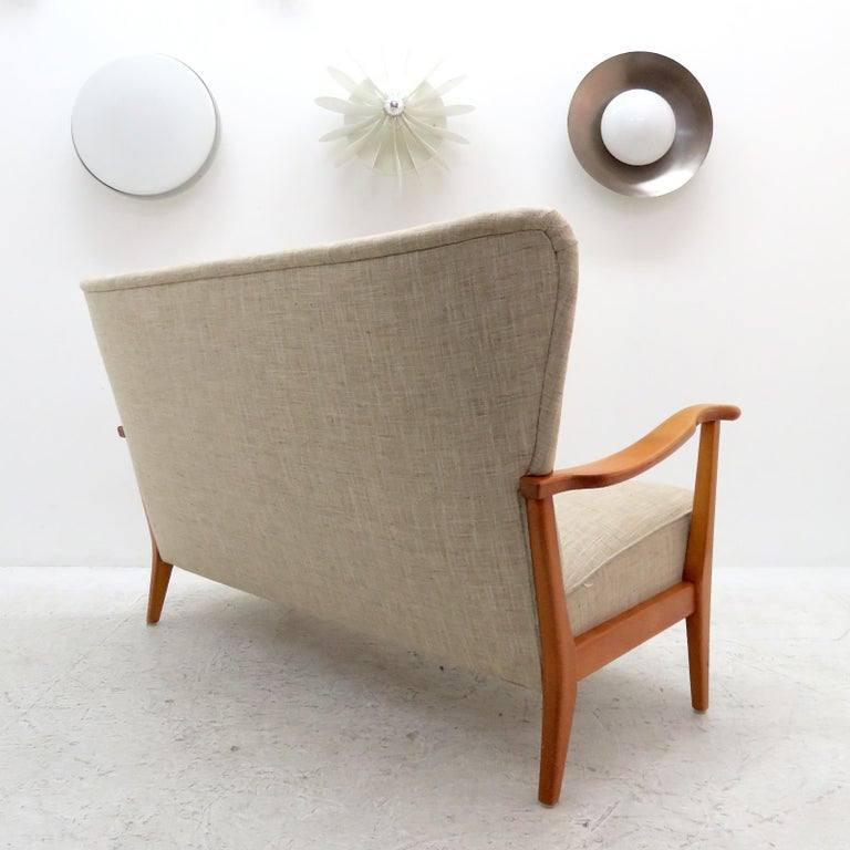 Upholstery Danish Modern Sofa by DUX, 1940 For Sale