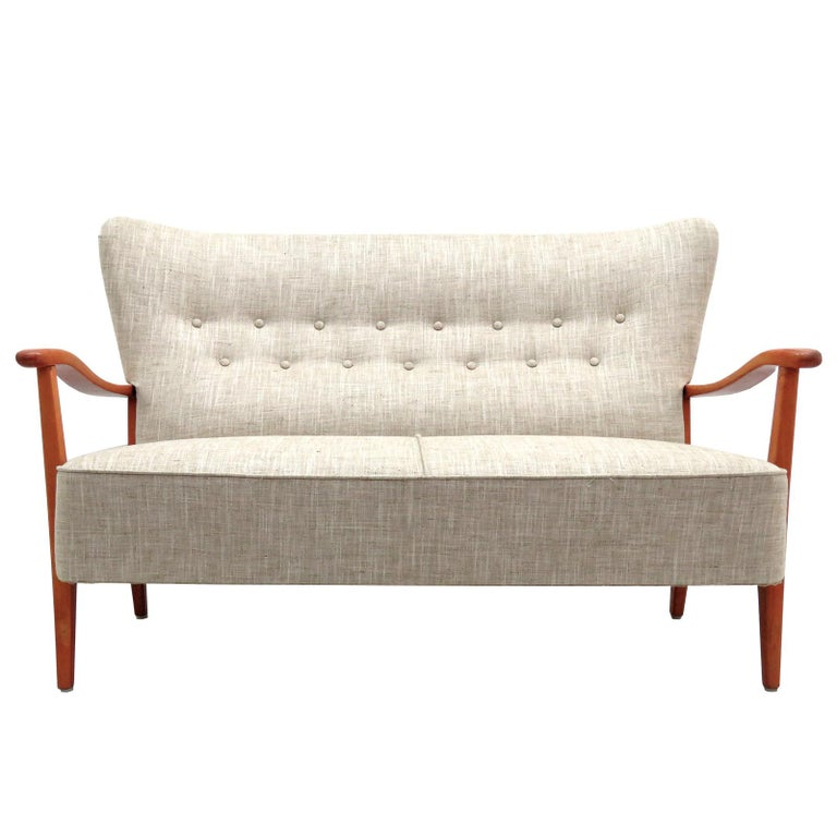Danish Modern Sofa by DUX, 1940 For Sale