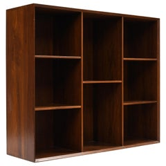 Danish Modern Solid Teak Bookcase by Peter Hvidt and Orla Mølgaard-Nielsen