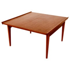 Danish Modern Solid Teak Finn Jhul 500 Couch Coffee Table for France & Sons