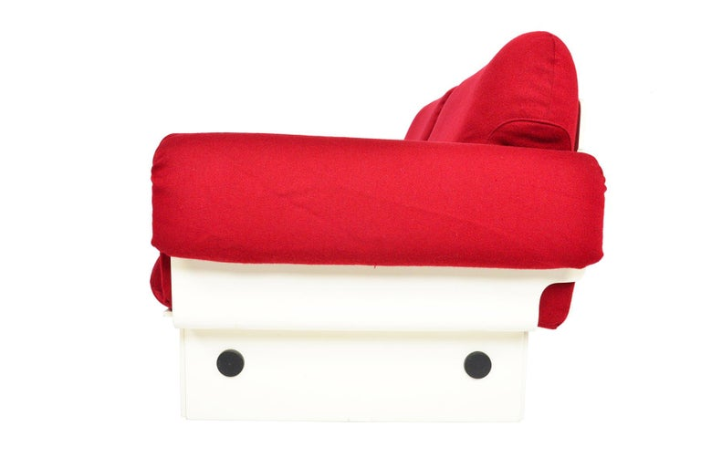 Danish Modern Space Age Loveseat For Sale 1
