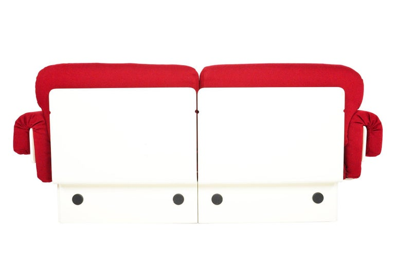 Danish Modern Space Age Loveseat For Sale 2