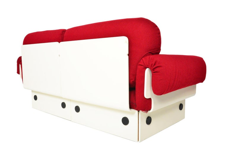 Danish Modern Space Age Loveseat For Sale 3
