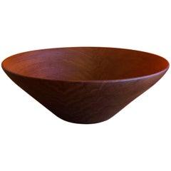 Danish Modern Staved Teak Bowl by Digsmed