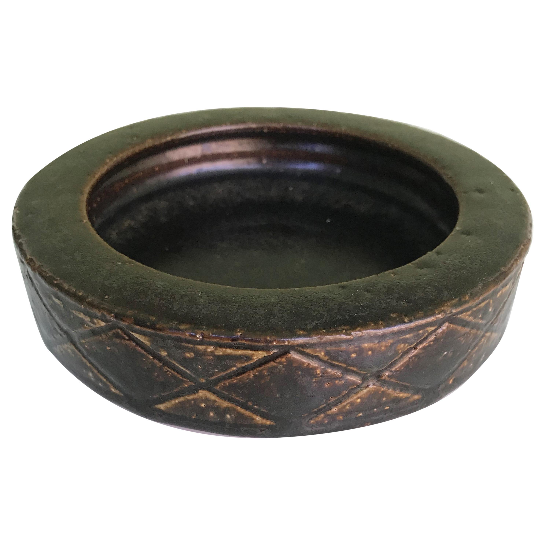 Danish Modern Stoneware Vessel by Per & Annelise Linnemann-Schmidt for Palshus