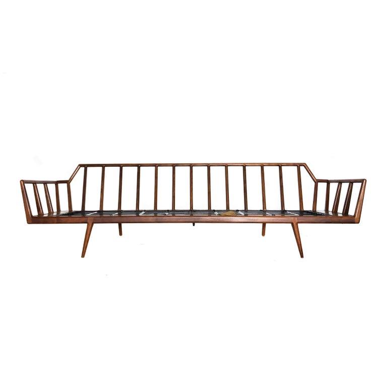 Danish Modern Style Mel Smilow Rail Back Sofa