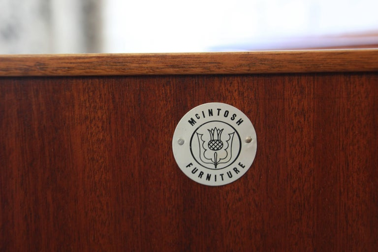 Danish Modern Style Teak Credenza by A.H. McIntosh For Sale 4