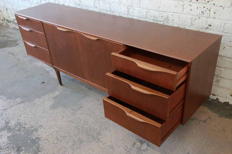 Mid-20th Century Danish Modern Style Teak Credenza by A.H. McIntosh For Sale