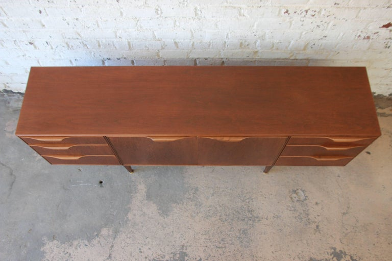 Danish Modern Style Teak Credenza by A.H. McIntosh For Sale 2