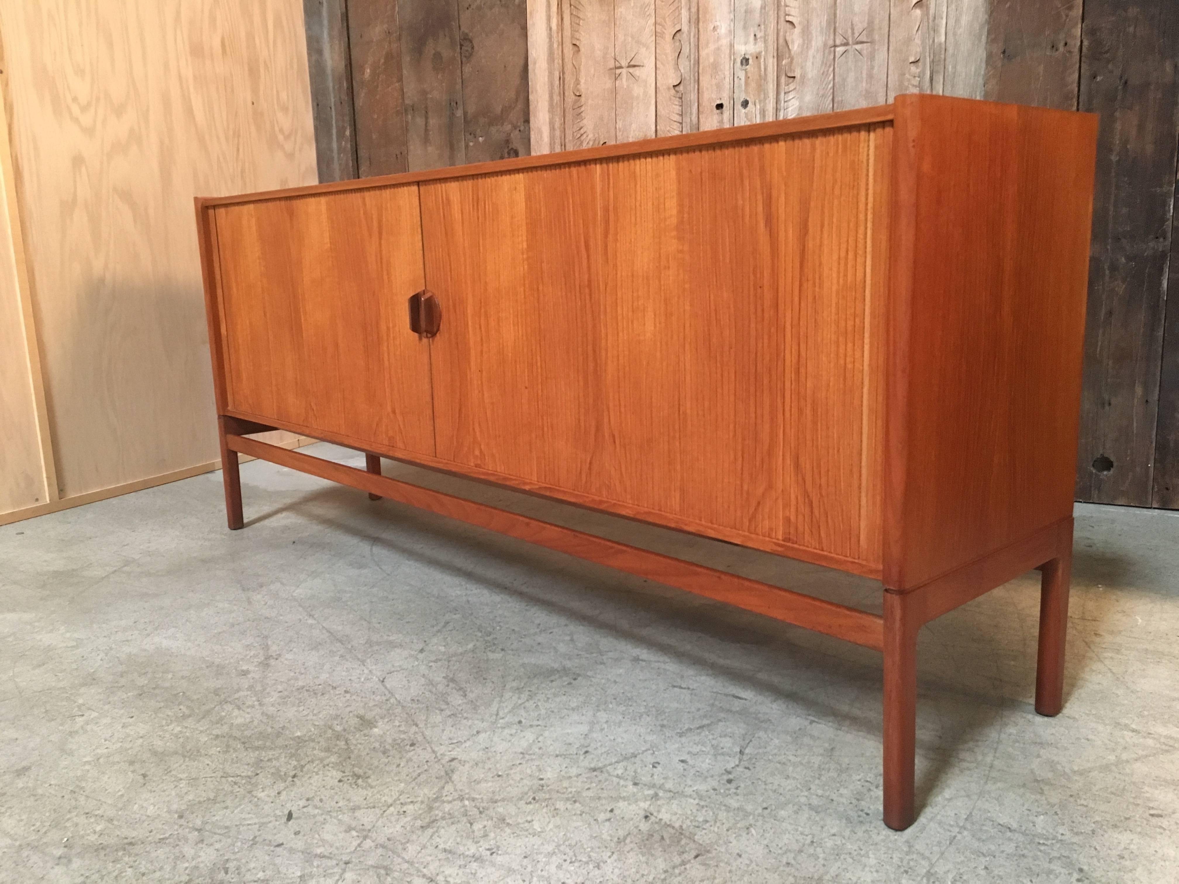 Danish Style Credenza : Vintage mid century danish modern teak credenza sideboard buffet