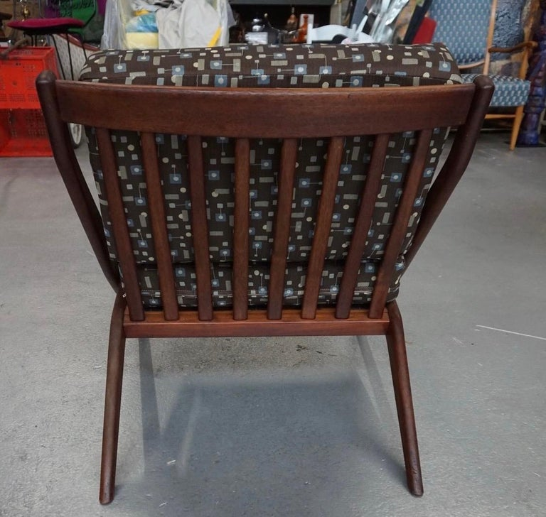 Danish Modern Swedish Folke Ohlsson DUX Scissor Chair In Good Condition For Sale In West Hartford, CT