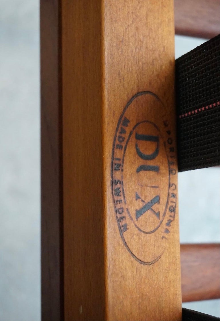 Danish Modern Swedish Folke Ohlsson DUX Scissor Chair For Sale 1