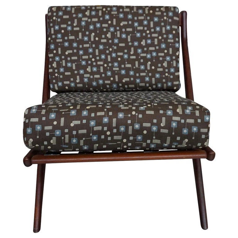 Danish Modern Swedish Folke Ohlsson DUX Scissor Chair For Sale