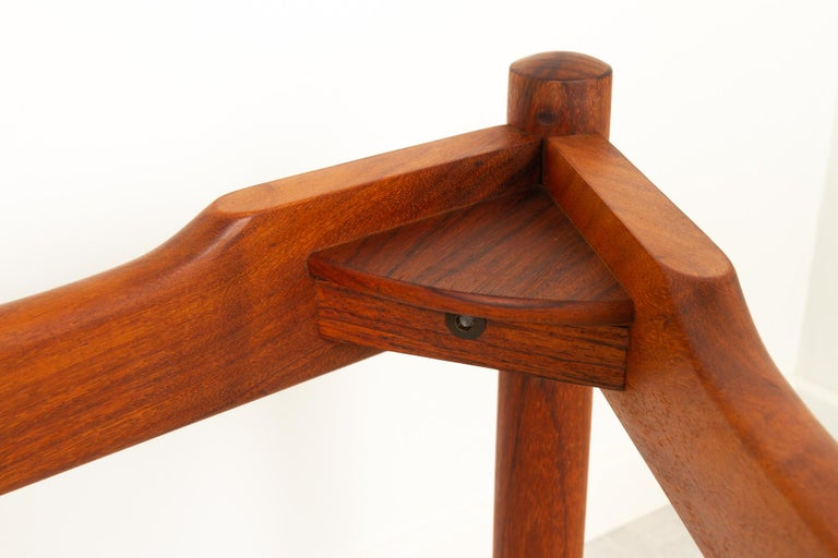 Danish Modern Teak and Glass Coffee Table by Komfort, 1960s For Sale 7