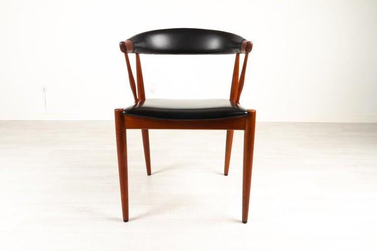 Mid-Century Modern Danish Modern Teak Armchair by Johannes Andersen for Brdr. Andersen, 1960s For Sale