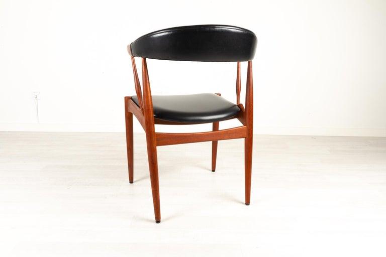 Mid-20th Century Danish Modern Teak Armchair by Johannes Andersen for Brdr. Andersen, 1960s For Sale
