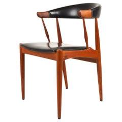 Danish Modern Teak Armchair by Johannes Andersen for Brdr. Andersen, 1960s