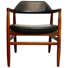 Danish Modern Teak Armchair by Tove & Edvard Kindt-Larsen, 1950s