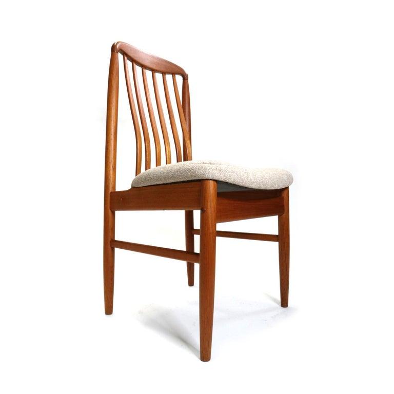 Thai Danish Modern Teak Benny Linden BL10 Dining Chairs
