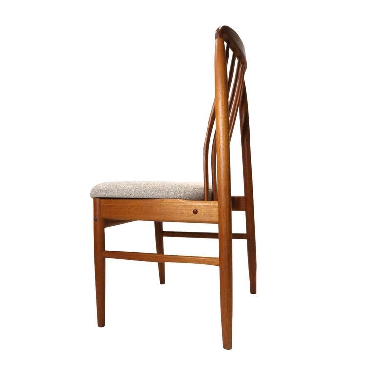 Danish Modern Teak Benny Linden BL10 Dining Chairs 1