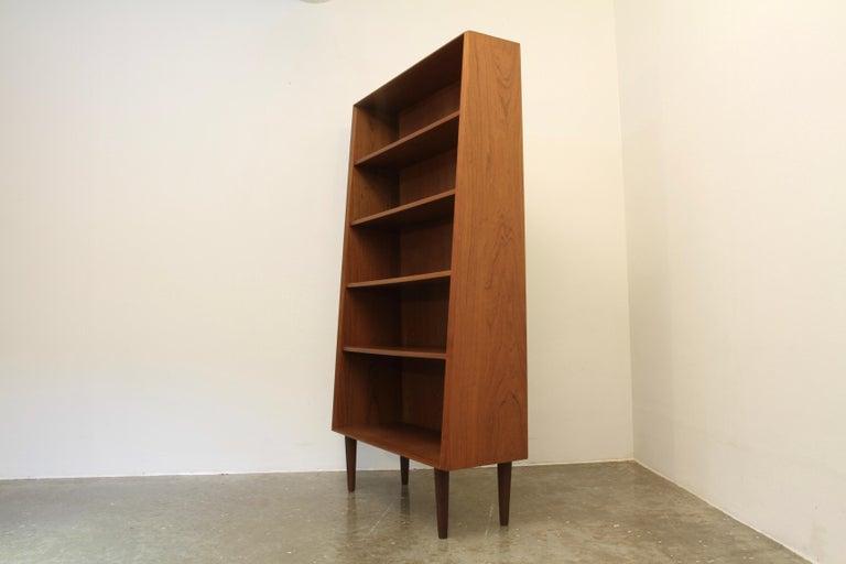 Mid-20th Century Danish Modern Teak Bookcase, 1960s For Sale