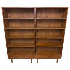Danish Modern Teak Bookshelves