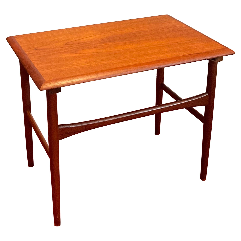 Danish Modern Teak Cocktail End Table
