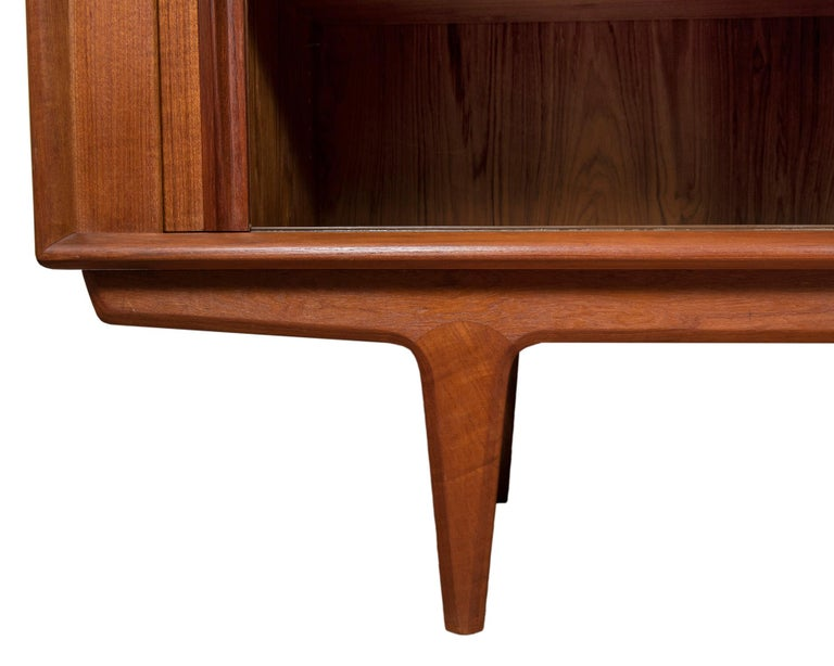 Danish Modern Teak Credenza by Bernhard Pedersen & Son, circa 1960s For Sale 1