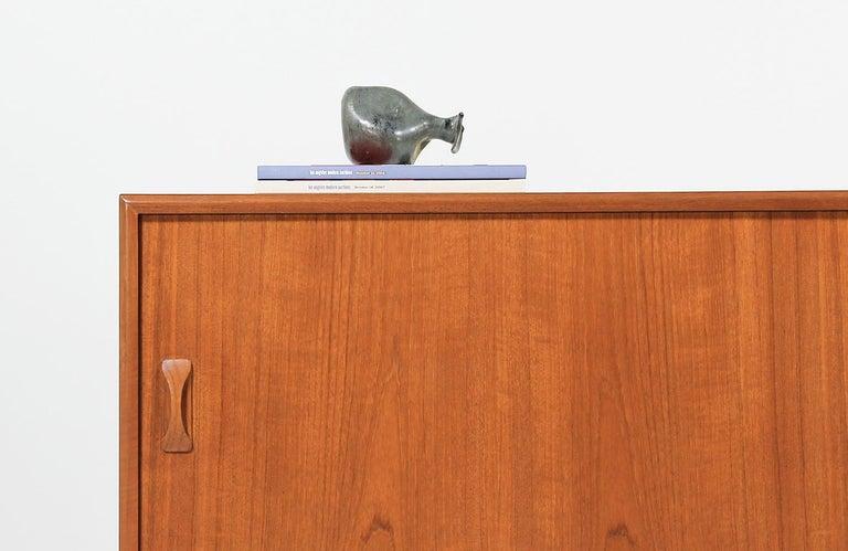 Danish Modern Teak Credenza by Clausen & Søn For Sale 7