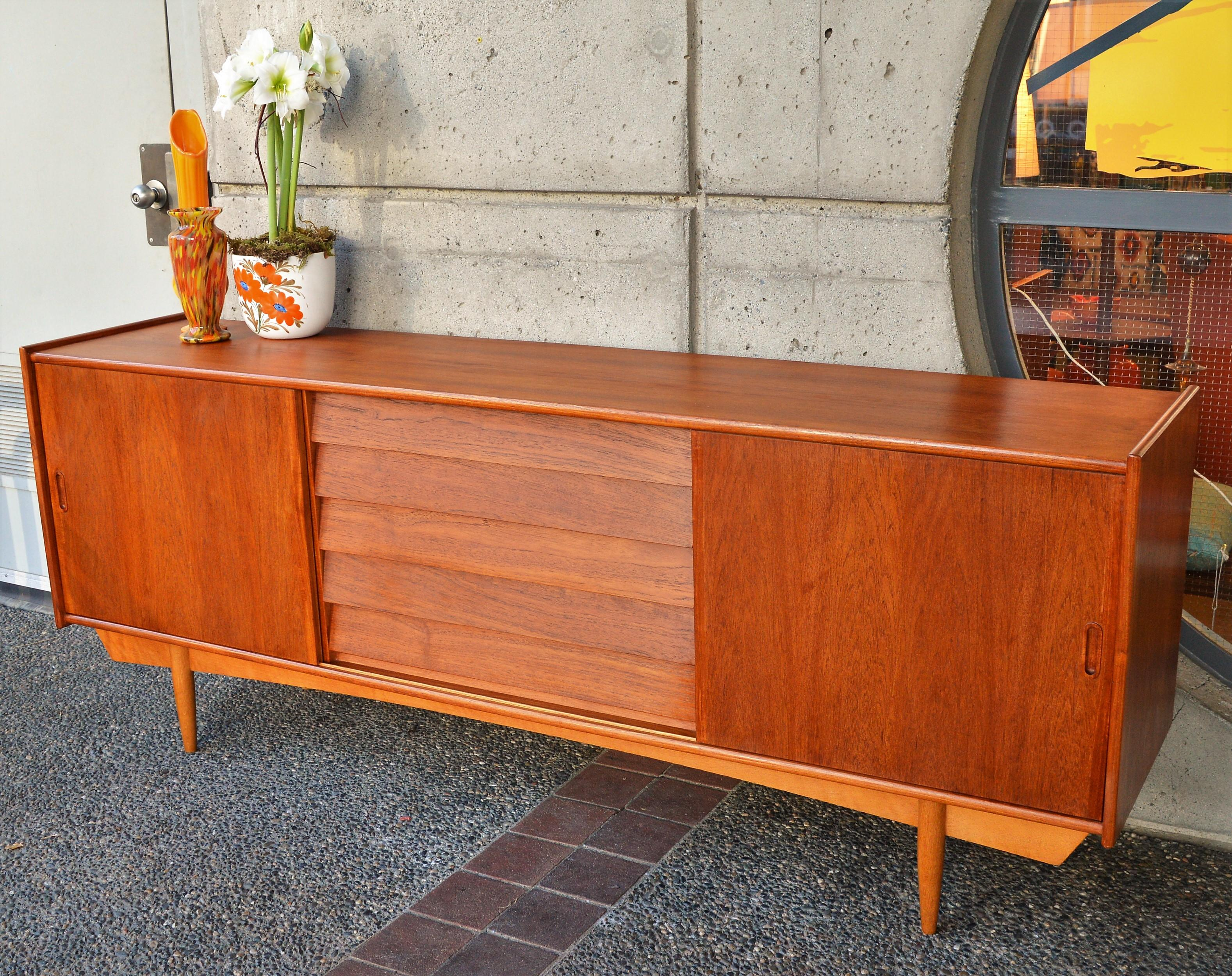 Danish Style Credenza : Danish style credenza custom built from recycled wood ecaytrade