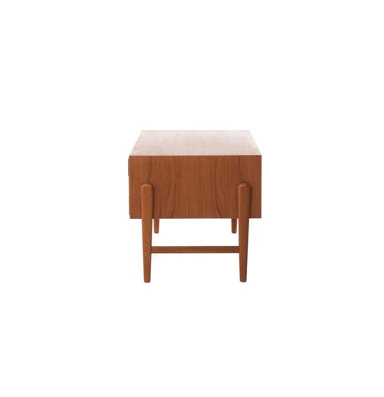 Oiled Danish Modern Teak Desk by Arne Vodder For Sale