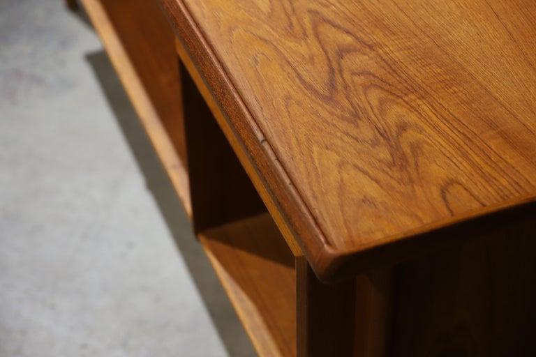 Danish Modern Teak Desk by Peter Lovig Nielsen 5