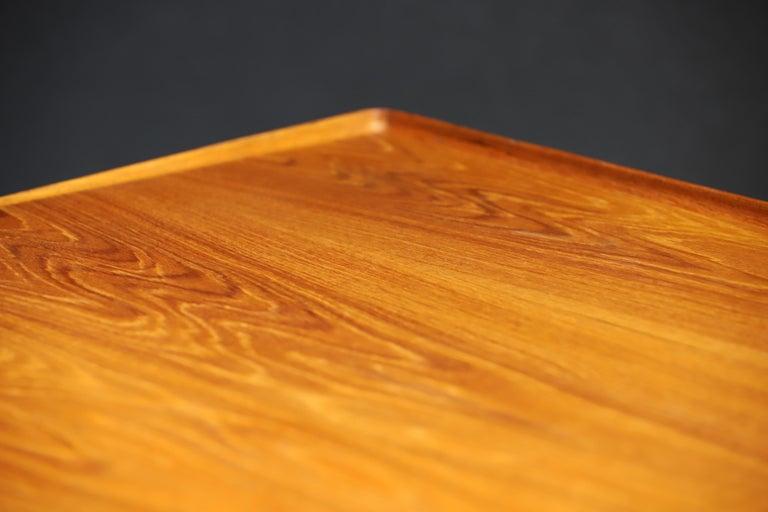 Danish Modern Teak Desk by Peter Lovig Nielsen 10