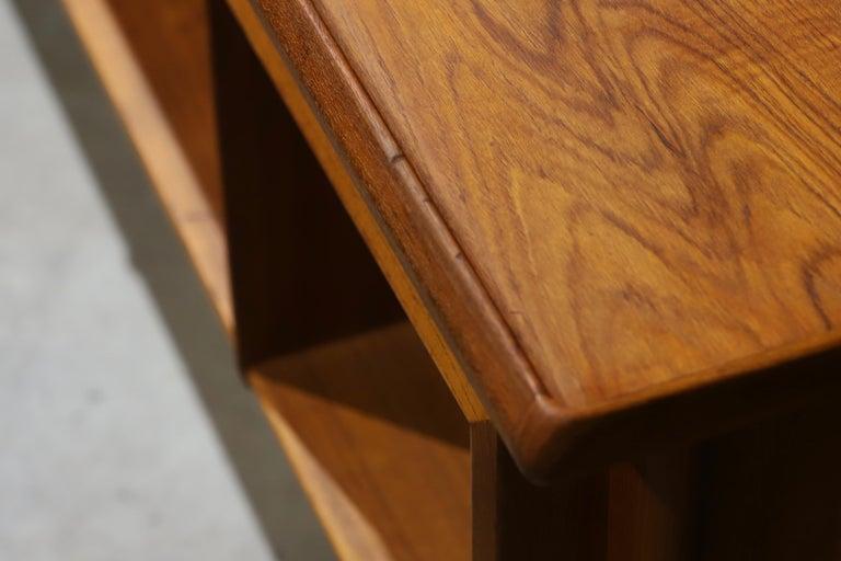 Danish Modern Teak Desk by Peter Lovig Nielsen 11