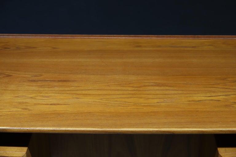Mid-20th Century Danish Modern Teak Desk by Peter Lovig Nielsen
