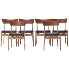 Danish Modern Teak Dining Chairs