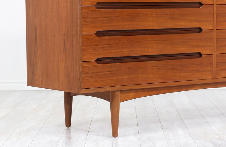 Danish Modern Teak Dresser by E.W. Bach For Sale 2
