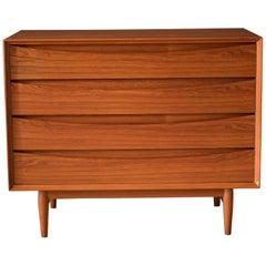 Danish Modern Teak Dresser Chest by Arne Vodder for Sibast