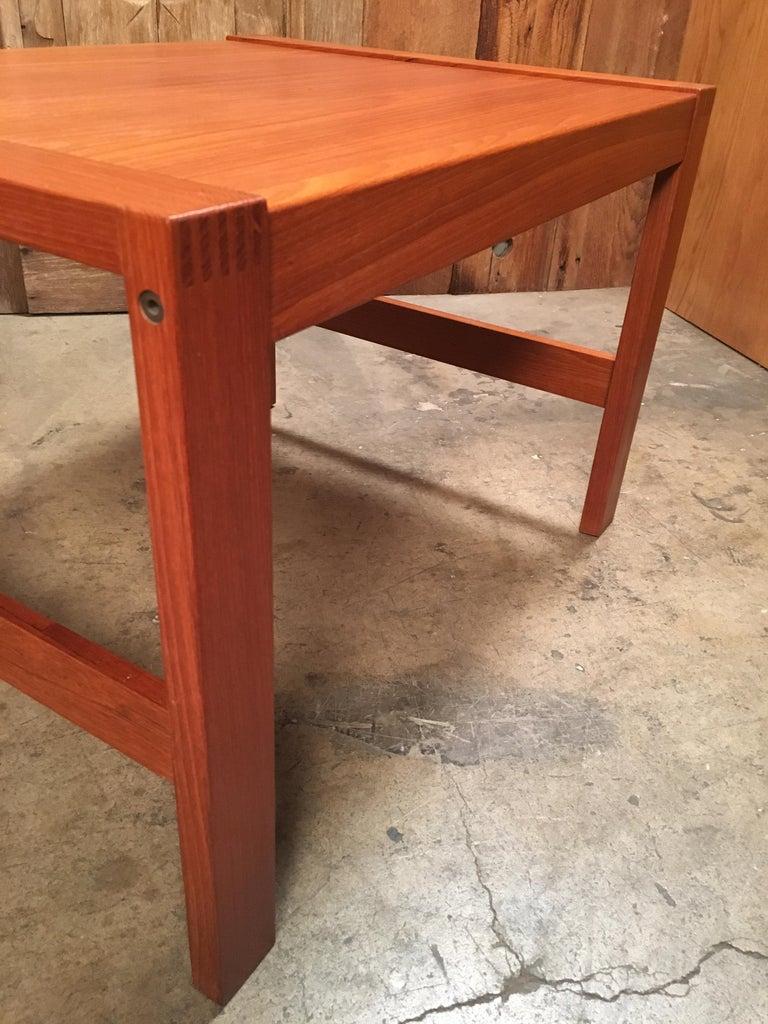 Danish Modern Teak End Tables For Sale 5