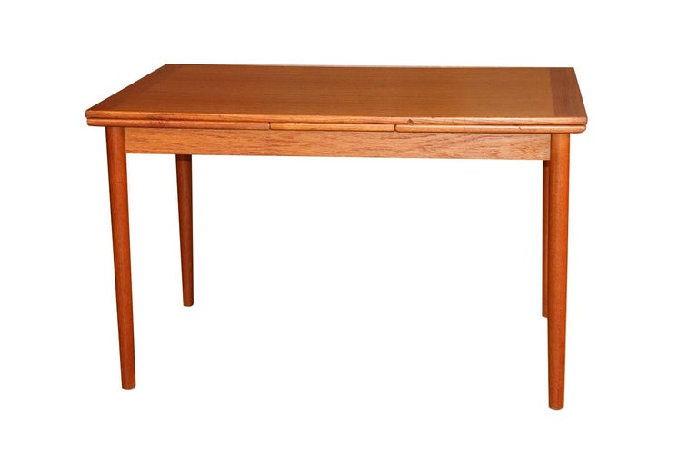Danish Modern Teak Extendable Dining Table 2